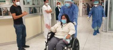 Paciente intubada 14 días por COVID-19 vence la enfermedad en hospital del IMSS en Nuevo León