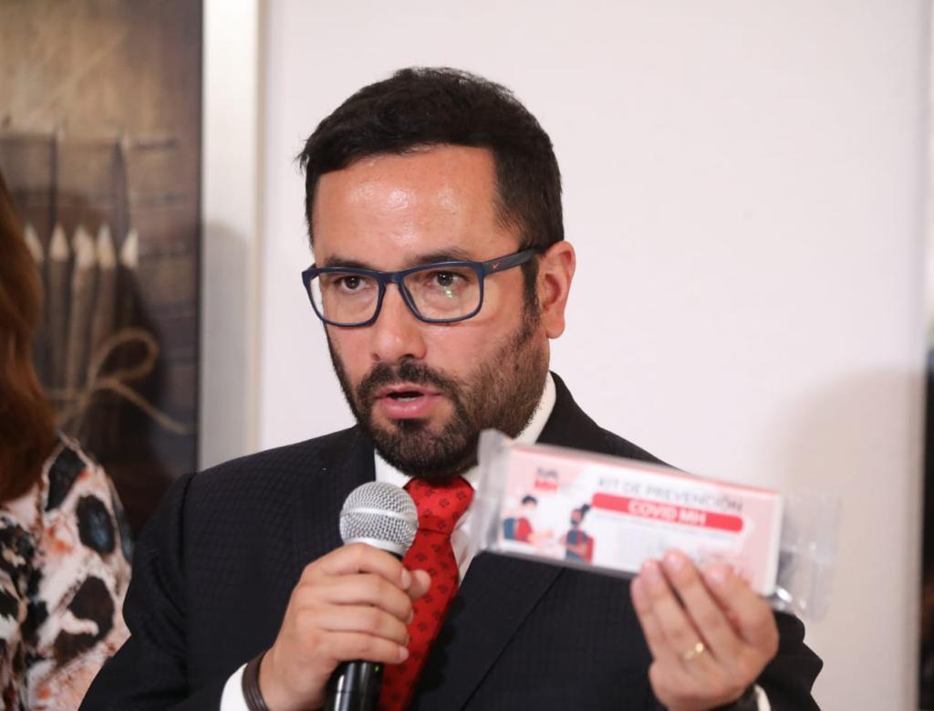 Alcaldía Miguel Hidalgo inicia entrega de 50 mil kits de prevención COVID