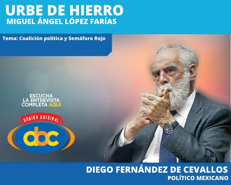 """""""Y lo peor de todo no es lo que ha sucedido sino lo que está por suceder"""": Diego Fernández de Cevallos"""