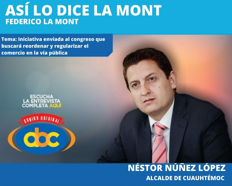 """""""Estamos en diálogo con los trabajadores independientes del espacio público, para garantizarles su derecho al trabajo"""":  Néstor Núñez"""