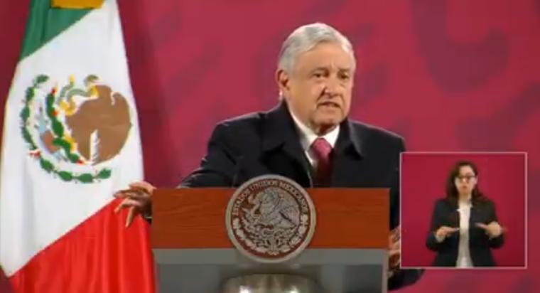 AMLO lamenta el asesinato del exgobernador  Aristóteles Sandoval, asegura que se va a investigar el  para conocer el móvil y castigar  a los responsables