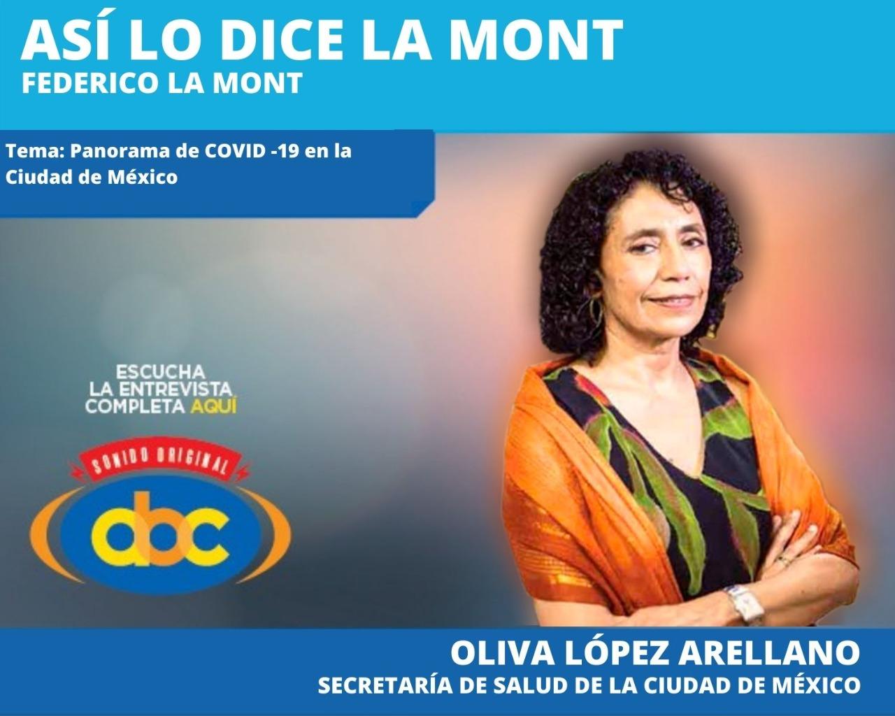 Ya que se canaliza a los pacientes graves a hospitales que tiene camas disponibles: Doctora Oliva López Arrellano