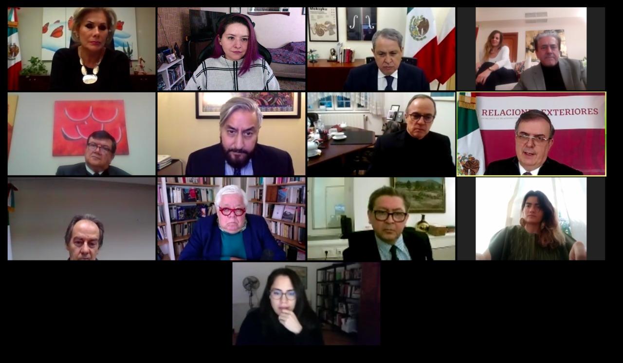 El canciller Marcelo Ebrard inauguró el Tercer Ciclo de Reuniones del Sistema Regional de Diplomacia Cultural