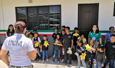 Fortalece INM interés superior de la niñez y evita que menores de edad ingresen a estaciones y estancias migratorias
