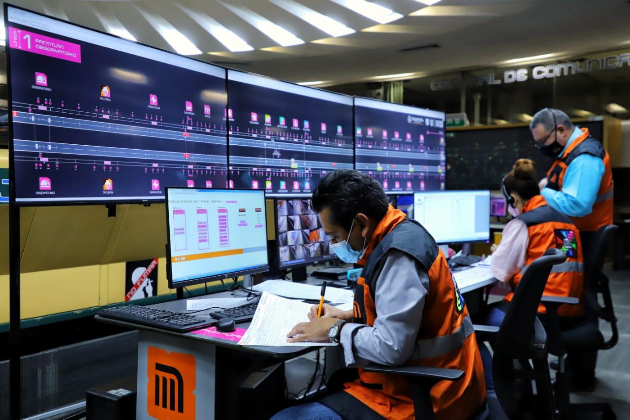 Este lunes reinició operaciones línea 1 del Metro, con 10 trenes.
