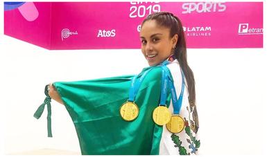 Paola Longoria entra en nominados para 'Mejor Atleta de Todos los Tiempos'
