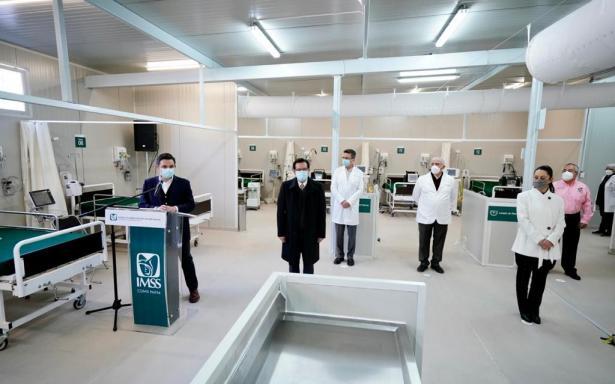 IMSS abre Centro de Atención Temporal Lindavista con 40 camas para la Ciudad de México