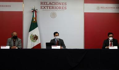 Gobierno de México buscará que todas las personas mexicanas en Estados Unidos y Canadá tengan acceso a vacunas contra COVID-19: SRE