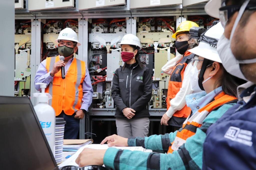 Concluye al 100 por ciento rehabilitación de la conexión de los transformadores al Puesto Central de Control de Energía Emergente del Metro