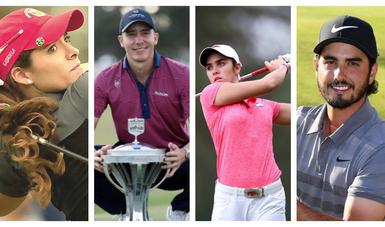 Cuatro golfistas mexicanos se perfilan para Juegos Olímpicos de Tokio
