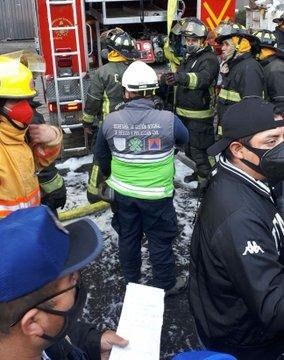 Incendio en instalaciones le metro deja una persona fallecida, varias lineas están suspendidas