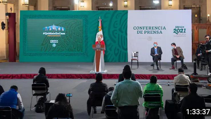 El presidente está muy fuerte,  recuperándose bien y muy optimista: Olga Sánchez Cordero