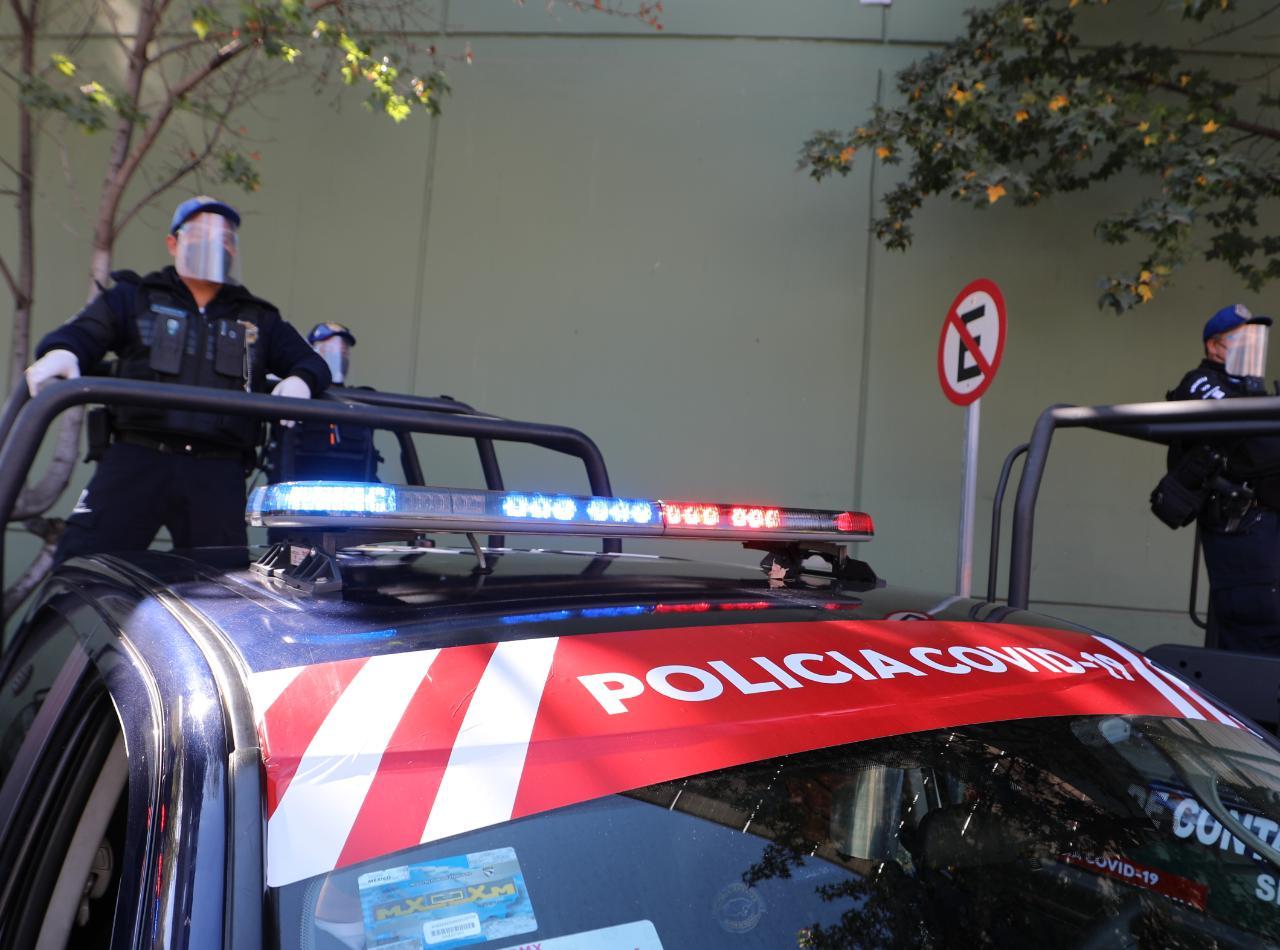 Activan policía COVID-19 en la alcaldía Miguel Hidalgo