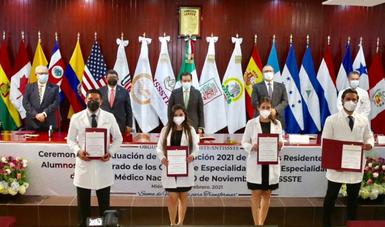 Gestionará el ISSSTE incorporar a médicos residentes a sus hospitales