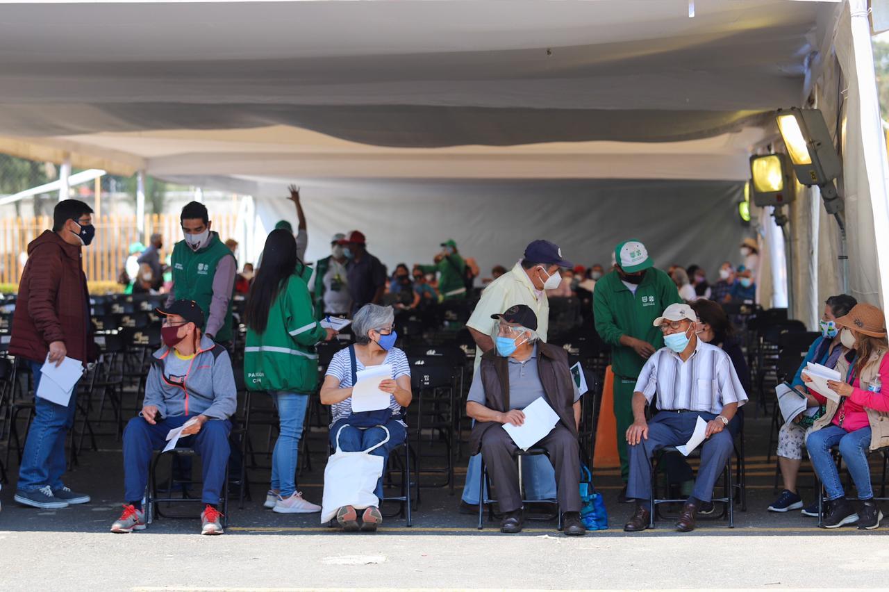 Destaca Jefa de Gobierno Organización en Plan Nacional de Vacunación en Iztacalco, Tláhuac y Xochimilco