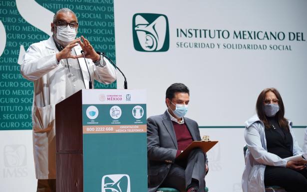Más de 583 mil personas atendidas en Módulos de Atención Respiratoria del IMSS ha reducido hospitalización