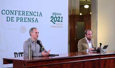 Pese a retraso en entrega de vacunas de Pfizer-BioNTech, está garantizada la aplicación de la segunda dosis: López Gatell