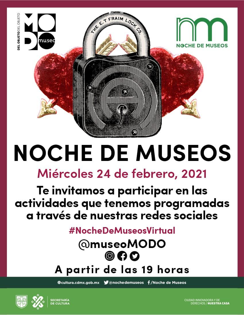 """Se suma el museo de arte contemporáneo de San José Costa Rica a """"Noche de mMuseos"""" de cultura CDMX"""