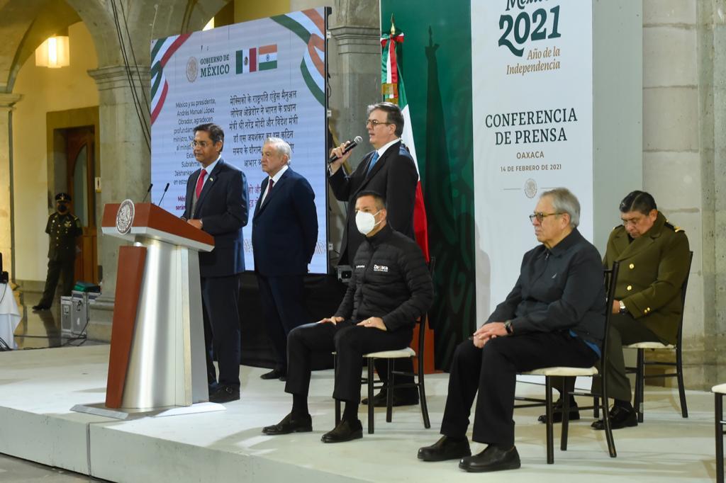 México se encuentra en posición de ampliar y acelerar su plan de vacunación gracias a su presencia y respeto en el mundo: SRE