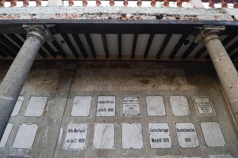 Realiza la secretaría de cultura capitalina, la restauración del Museo Panteón de San Fernando, ícono del arte funerario
