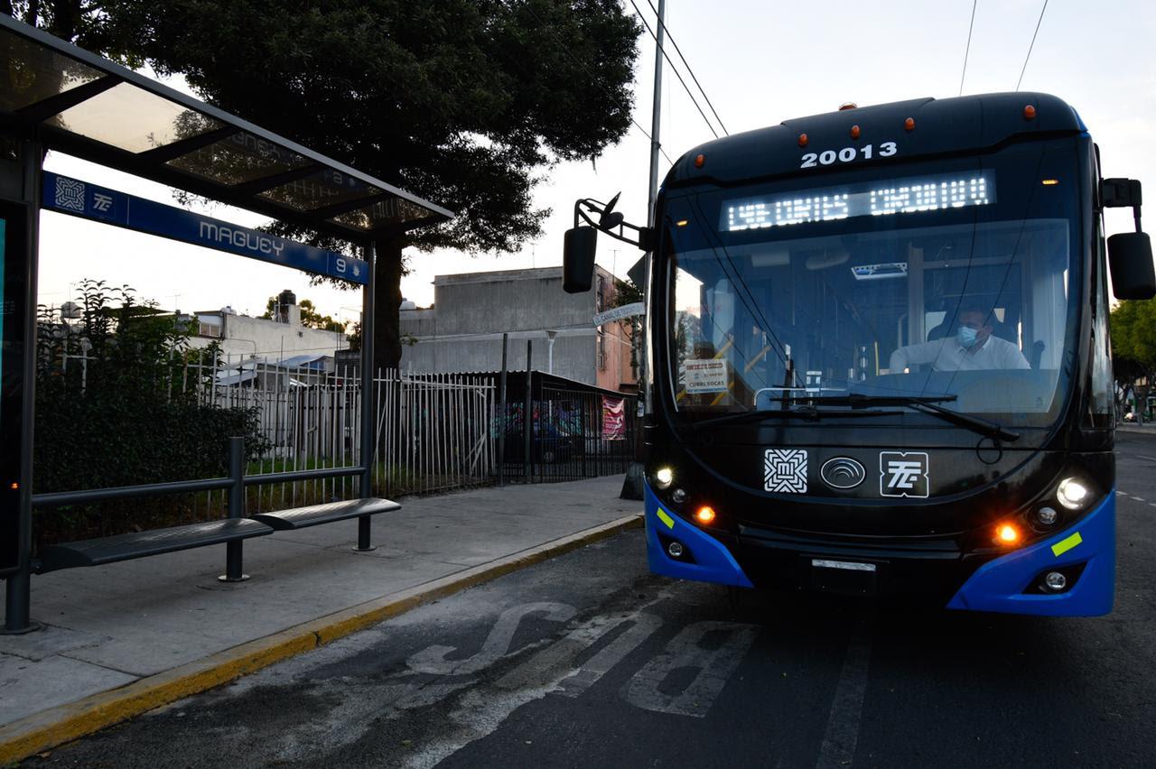 Reactiva Gobierno capitalino Línea 9 del Trolebús Villa de Cortés-Río Churubusco