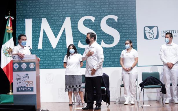 IMSS se consolida como la mejor escuela de medicina al forjar al 60 por ciento de especialistas en México: Zoé Robledo