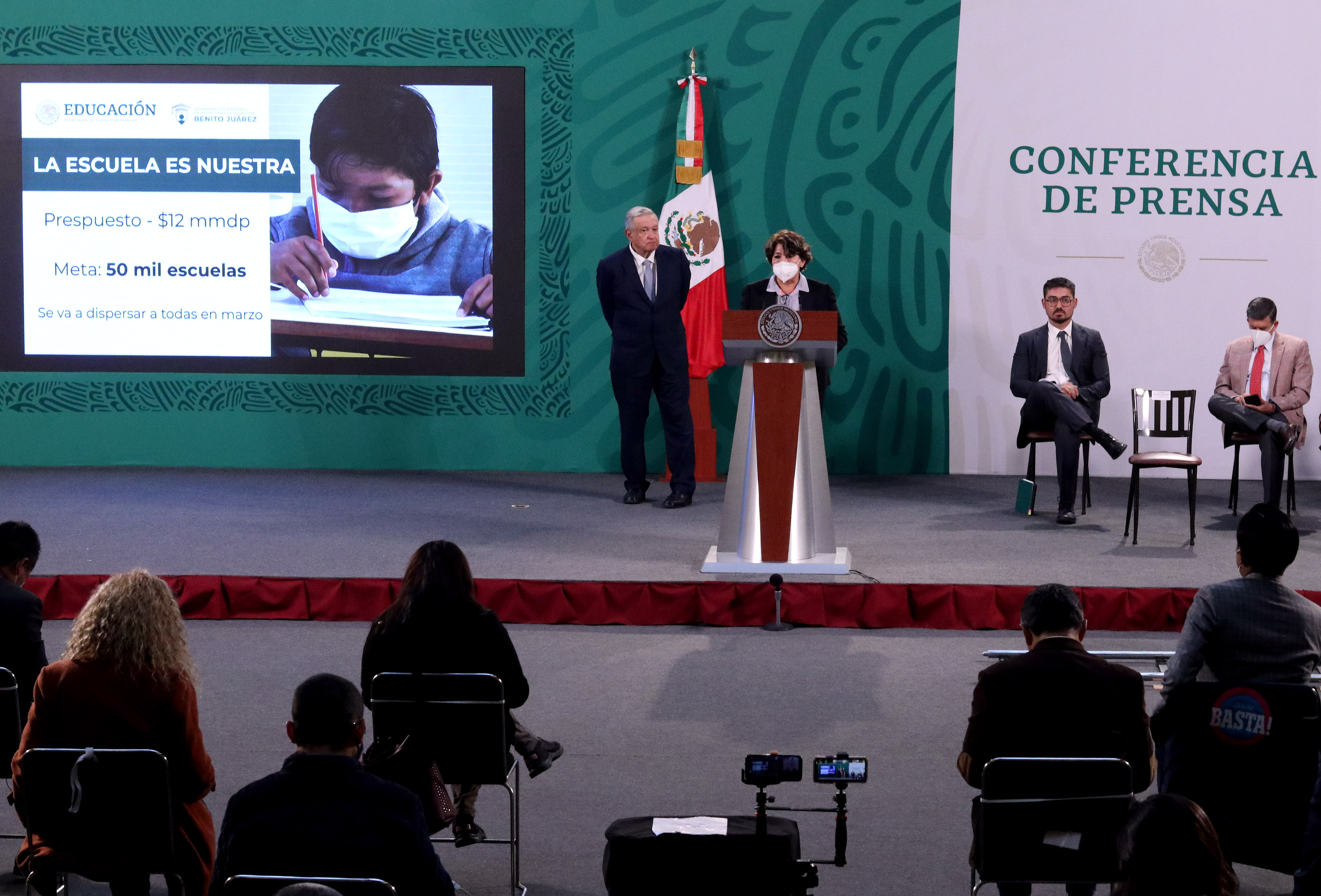Adelantará el Gobierno de México entrega de Becas y apoyos del programa La Escuela es Nuestra al mes de marzo