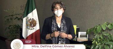Reitera Delfina Gómez Álvarez apertura al dialogo con el magisterio