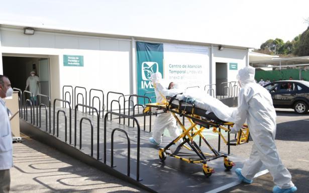 A unos días de su apertura, Centro de Atención Temporal Lindavista atiende a 24 pacientes con COVID-19