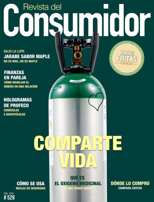 Presenta Revista del Consumidor guía de precios de oxígeno medicinal
