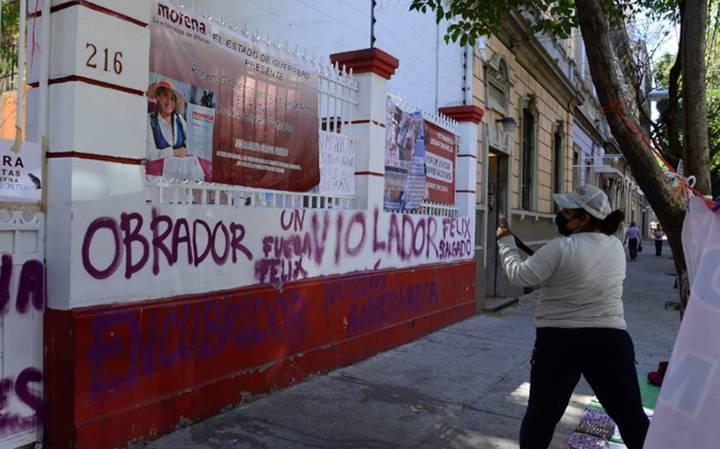 Constituyentes por Morena afirman que candidaturas como la de Félix Salgado harán daño al partido