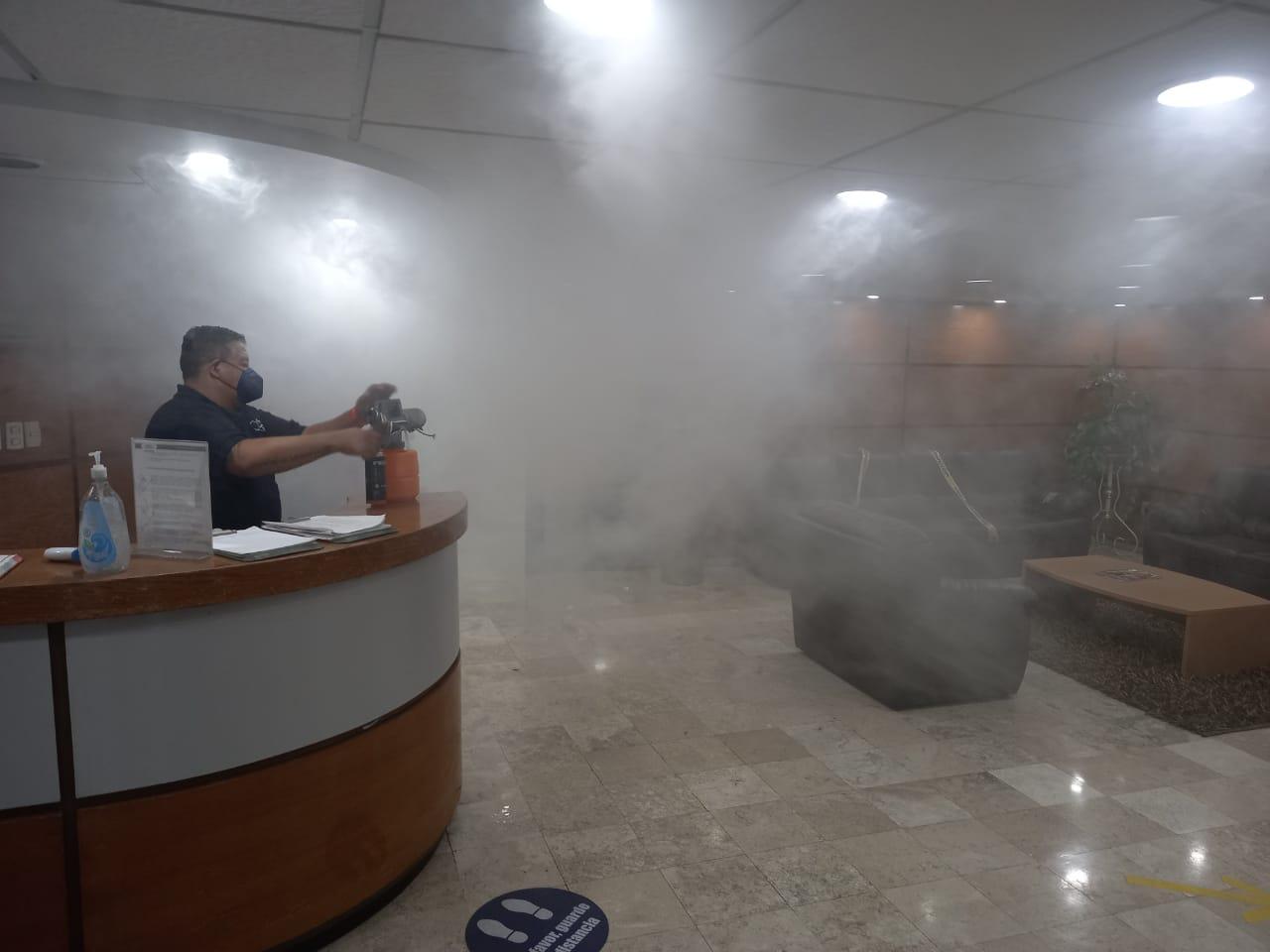 ABC Radio México realiza su sanitización mensual en Estudios Tepeyac, en atención y cuidado a su personal y programas