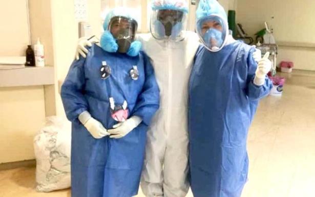Doctora del IMSS derrota al COVID-19, a pesar de su gravedad