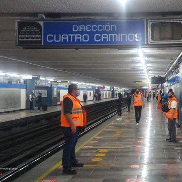 Estación Zócalo de la Línea 2 permanecerá cerrada hoy y mañana