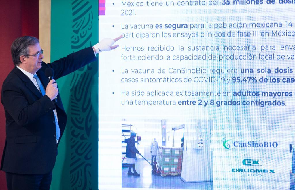 Gobierno de México concreta primer envasado de vacunas contra COVID-19 en territorio nacional