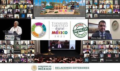 Participaron 60 países en el Tianguis Turístico Digital 2021