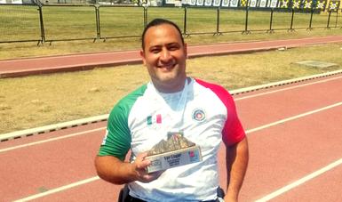 Arquero Omar Echeverría gana oro y plaza a Juegos Paralímpicos