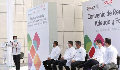 Recibe el ISSSTE hospital materno infantil como pago de deuda con gobierno de Oaxaca