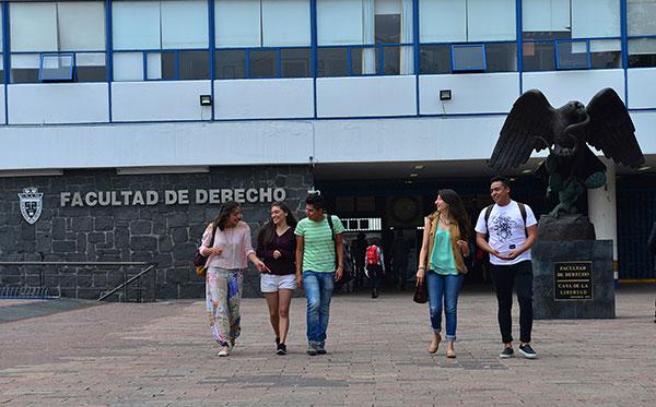 Califica la Facultad de Derecho de la UNAM como la mejor de iberoamérica y lugar 34 del mundo