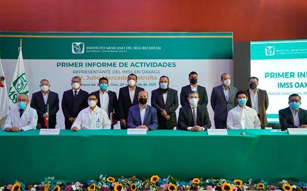 Liderazgo, compromiso y trabajo en equipo, claves para mantener niveles estables de ocupación hospitalaria durante pandemia: IMSS