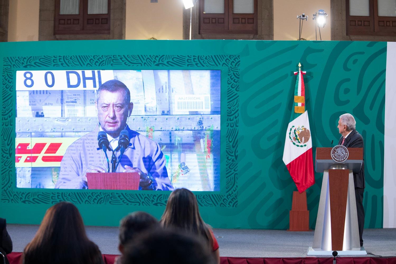 Esta semana México recibirá un millón 845 mil 275 de vacunas contra COVID-19