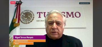 Miguel Torruco da a conocer los resultados de la segunda edición del Tianguis Turístico Digital