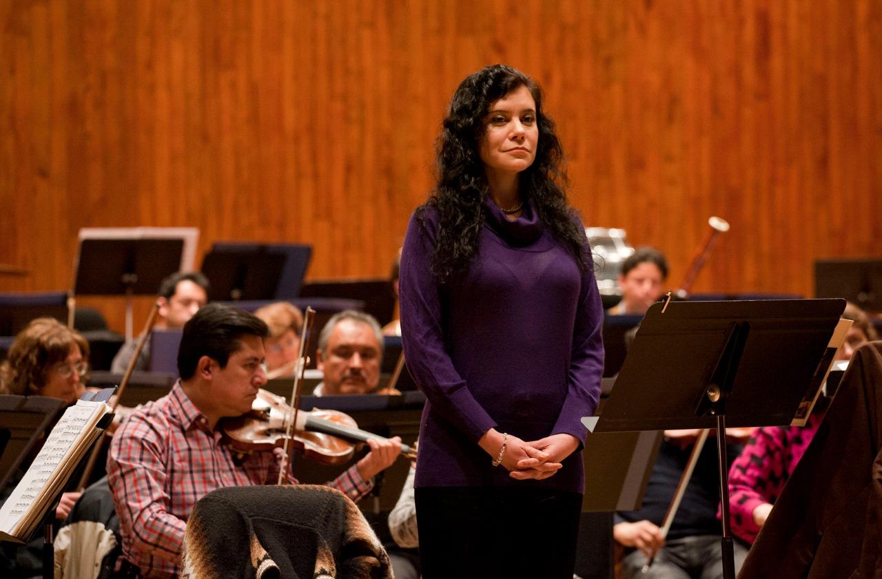 Destaca la Orquesta Filarmónica de la Secretaría de Cultura capitalina el trabajo creativo de mujeres