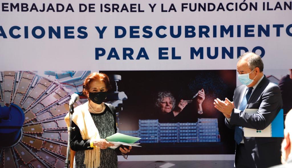 """Embajada de Israel y la Fundación Ilan presentan la exposición fotográfica """"Innovaciones y Descubrimientos de Israel Para el Mundo"""""""