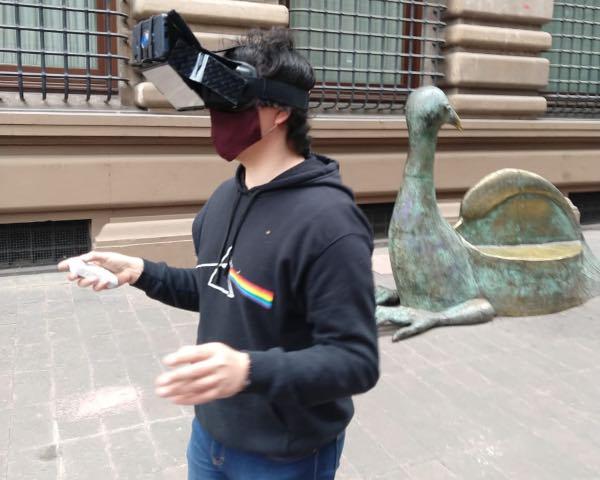 Politécnicos utilizan realidad mixta en aplicación turística para la CDMX