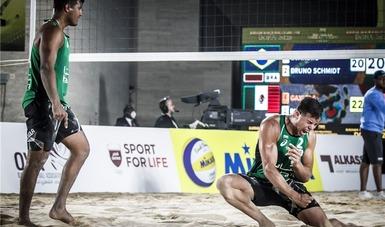 Voleibolistas de playa van a Qatar por puntos de clasificación olímpica