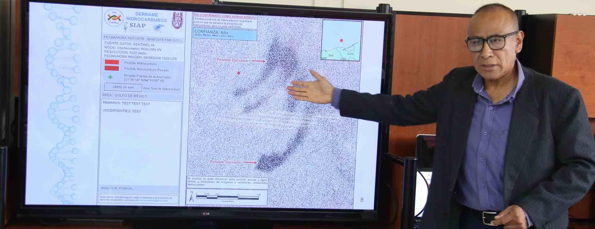 Apoyará IPN en detección de sargazo con tecnología satelital