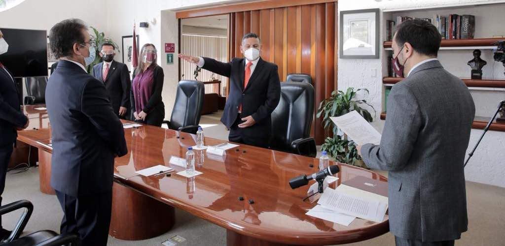 Toma protesta nuevo Secretario de Administración del IPN