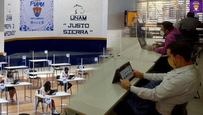 UNAM pone en operación Centros de Acceso PC PUMA con equipos de cómputo y conectividad en CCH Sur y Prepa 3