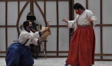 Centro Cultural Helénico inicia funciones presenciales con: Katsumi y el Dragón